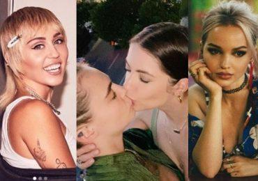 famosas que se declararon bisexuales tras salir con hombres