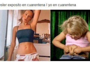 Ester Exposito memes de baile de regueton