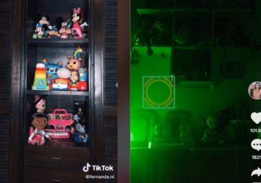 video de tiktok juguetes poseidos