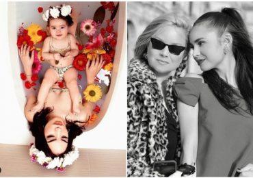 famosos celebran el dia de las madres