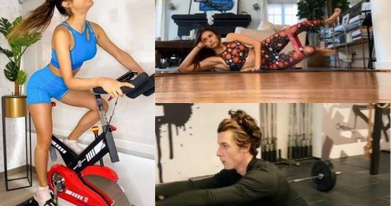 rutinas de ejercicios de los famosos