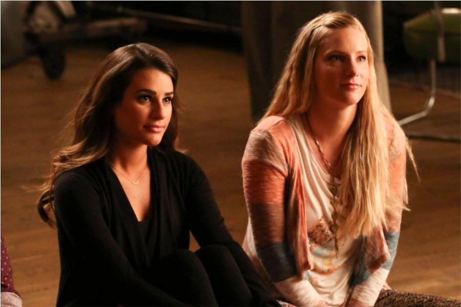 Heather Morris revela lo desagradable que fue trabajar con Lea Michele   Tú  en línea