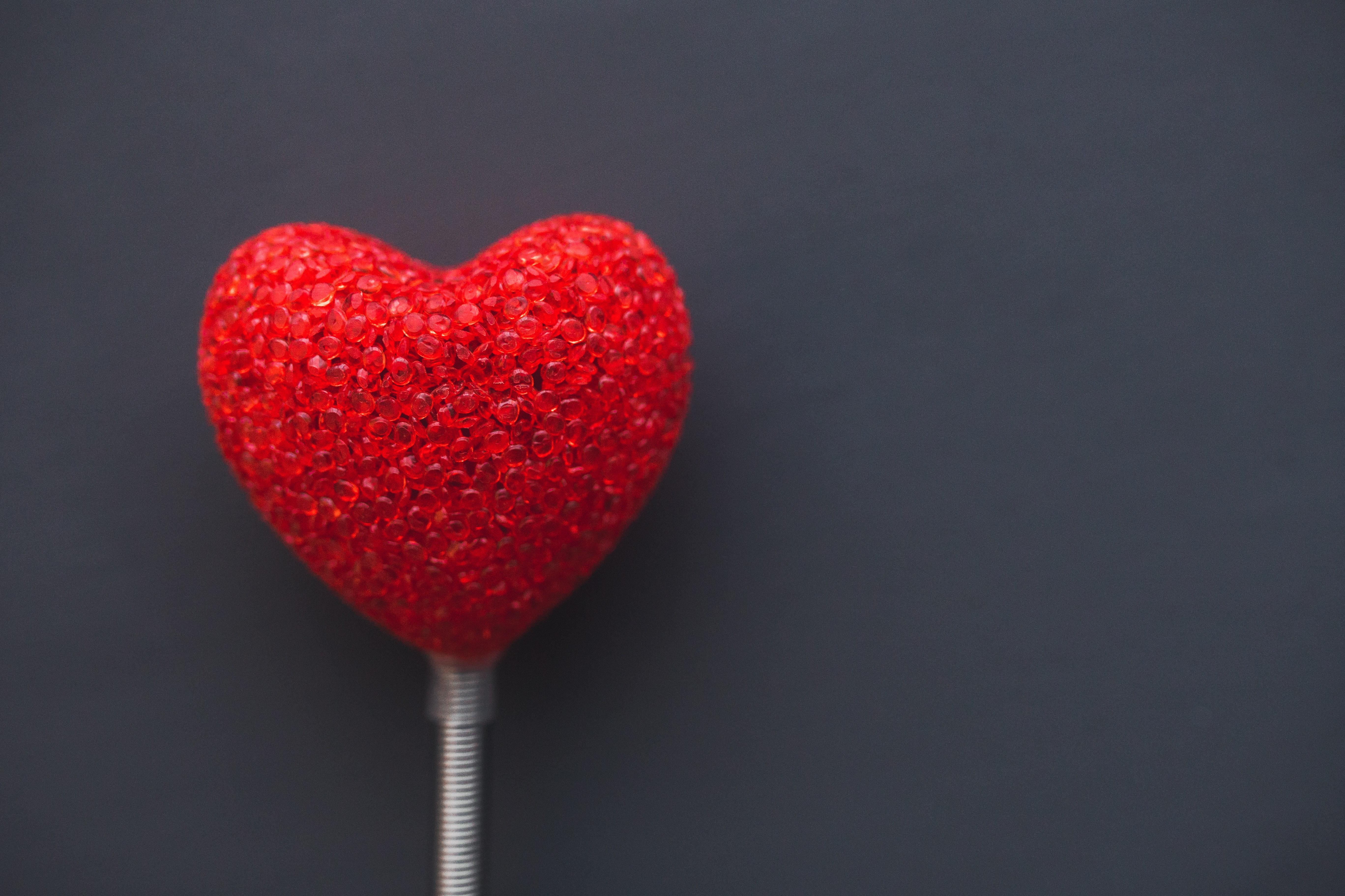 Paletas de corazón