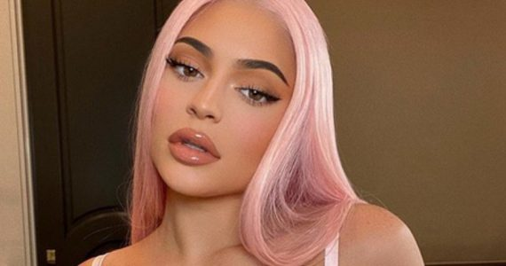 Kylie Jenner sin maquillaje