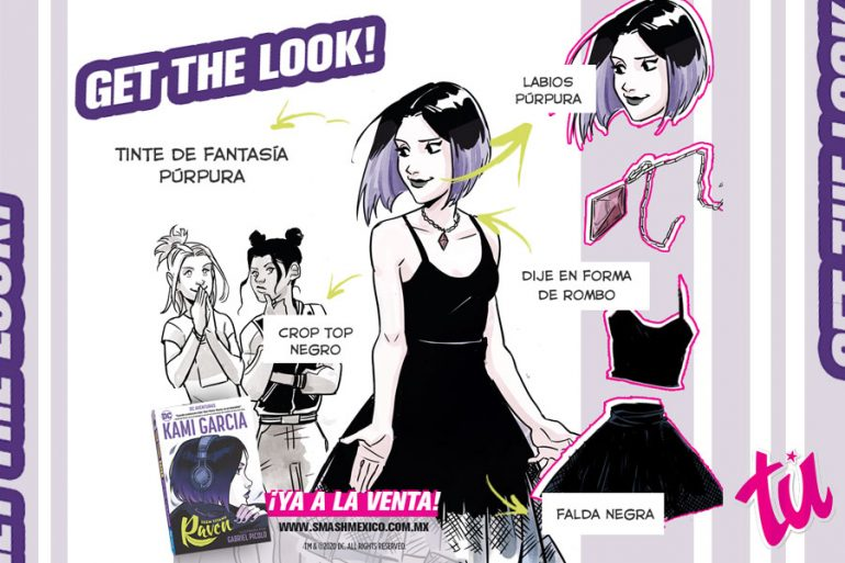 Cómic Raven Kami García