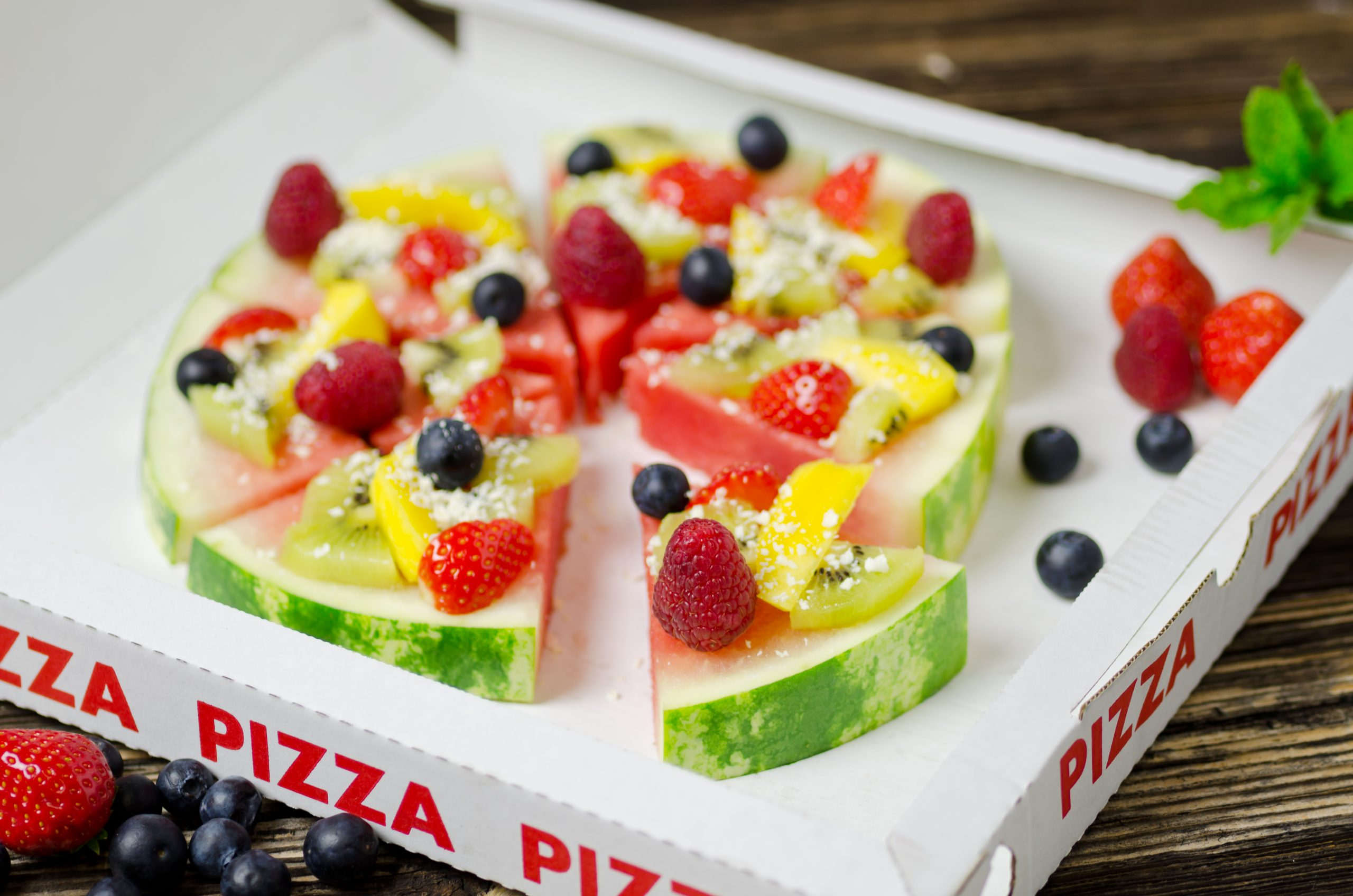 diy pizza de sandia
