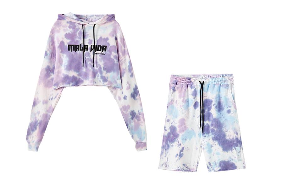 Tie Dye Pull&Bear lanza una línea de ropa exclusiva con Nicki Nicole
