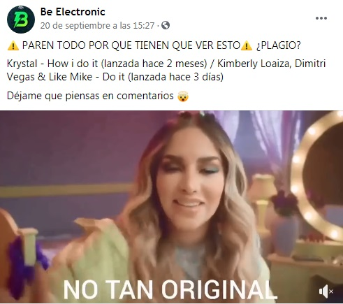 kimberly loaiza do it plagio