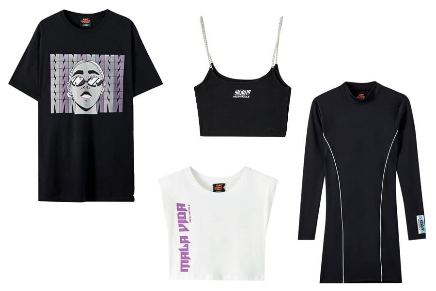 prints Pull&Bear lanza una línea de ropa exclusiva con Nicki Nicole