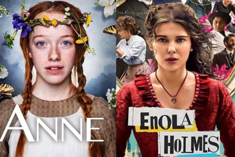 Anne With An E aparecio en enola holmes