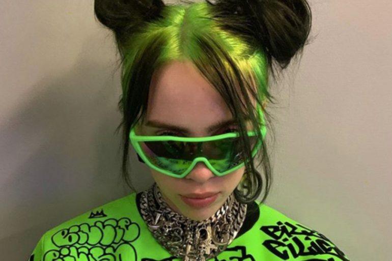 Billie Eilish responde a los que criticaron su cabello verde