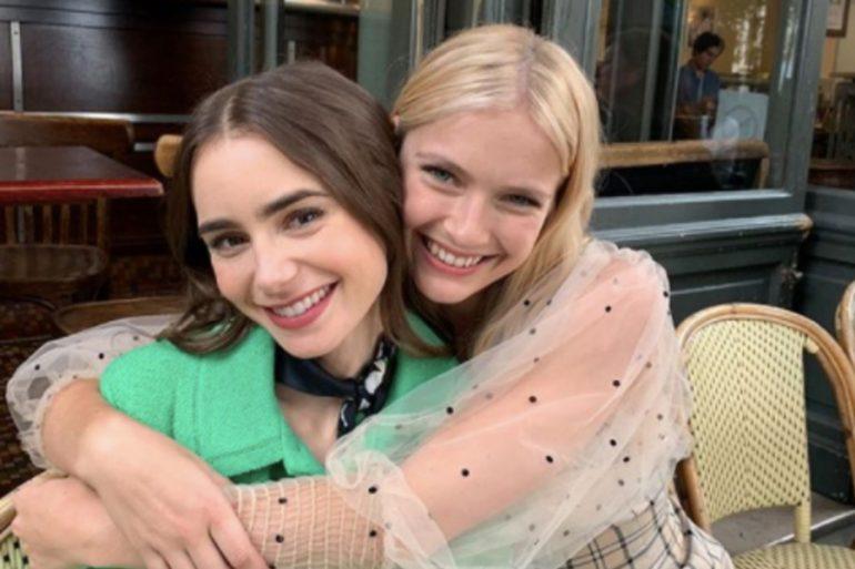 productor habla segunda temporada emily in paris amiga