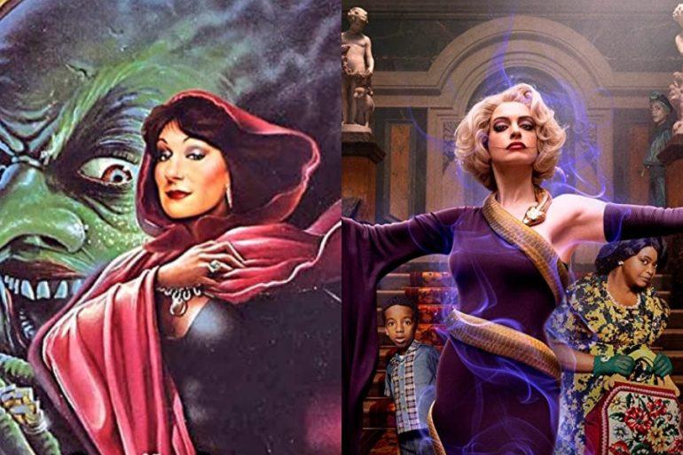reparto de las brujas 2020 y la brujas 1990