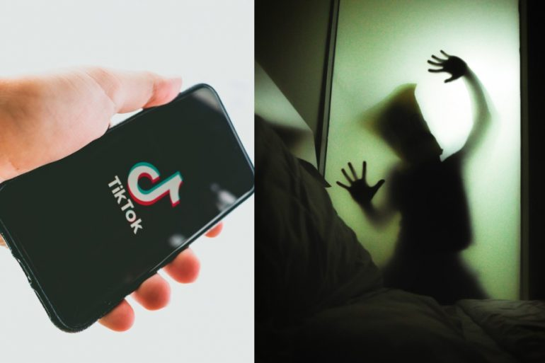 tiktok usuarios videos fantasmas sucesos paranormales