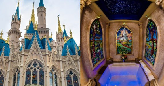 suite cenicienta castillo disneyland