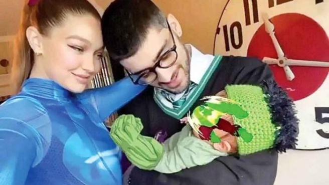 primera foto familiar gigi hadid zayn malik con su hija