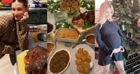 famosos thanksgiving