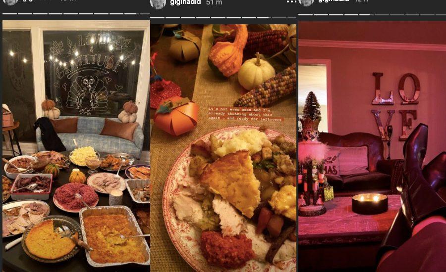 así fue thanksgiving famosos