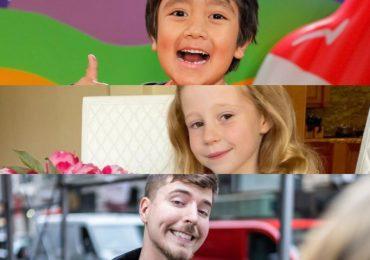 Estos son los 10 youtubers mejor pagados del mundo