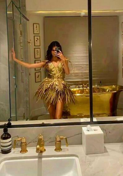 bañera kendall jenner