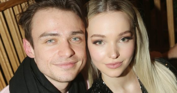 parejas thomas doherty dove cameron terminaron