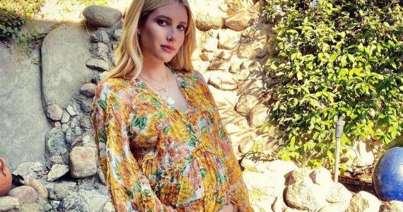 emma roberts comparte primera foto bebé