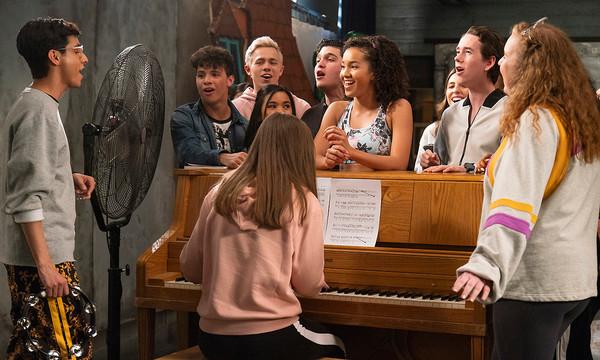 hisgh school musical la serie el musical
