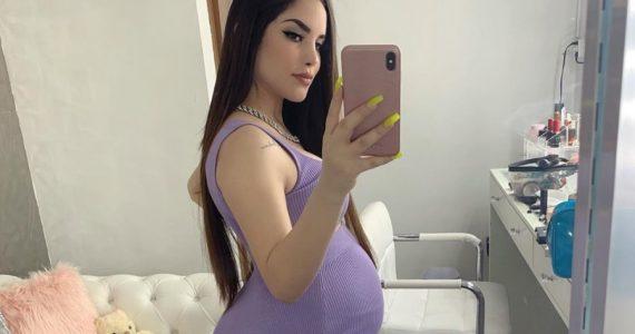 kimberly loaiza revela como es su bebé