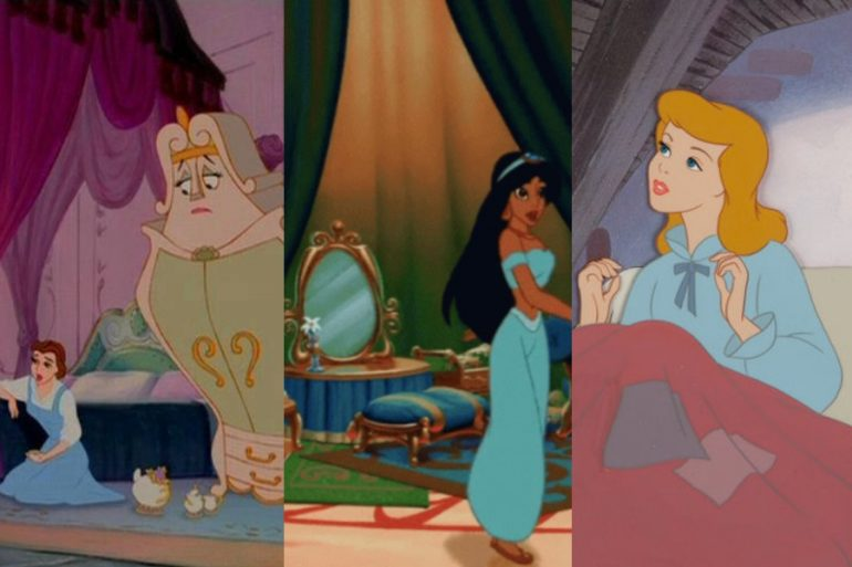 test como decorar recámara según princesas disney