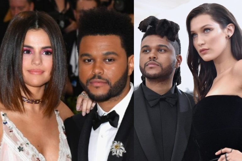 canciones the weeknd dedicadas selena gomez bella hadid