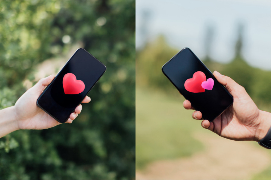 Cita virtual para mantener vivo el amor a distancia