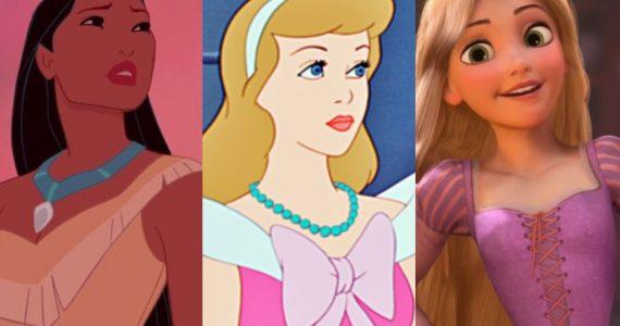 estilo vestir segun princesas disney