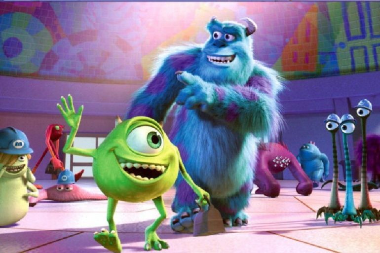 monsters at work serie monsters inc