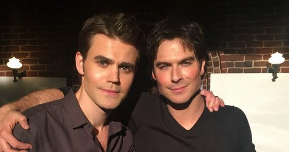 paul wesley ian somerhalder escena favorita the vampire diaries