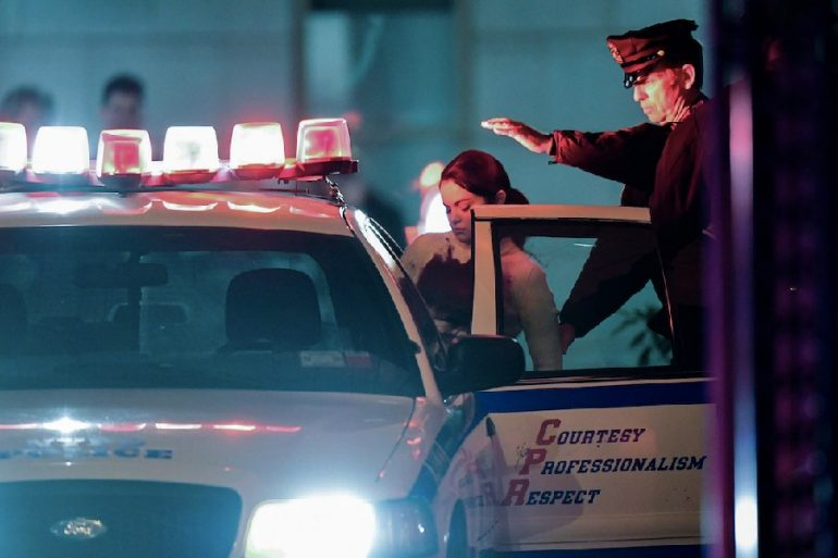 selena gomez arrestada nueva york