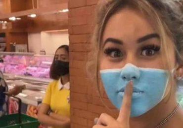 youtubers deportados Bali por pintarse cubrebocasFoto: YouTube