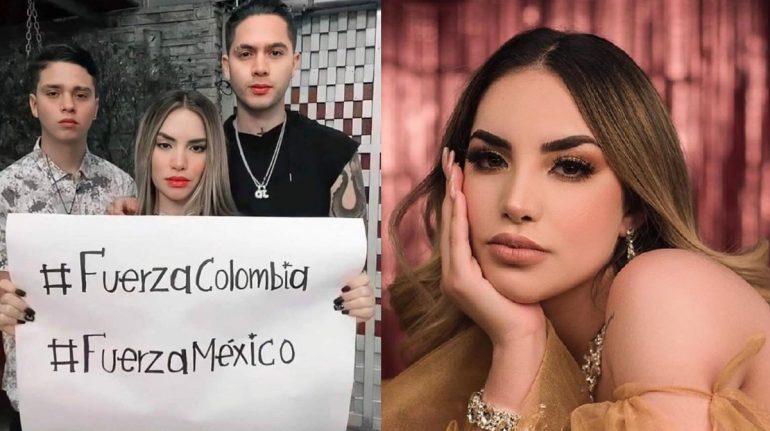 kimberly loaiza atacada video colombia