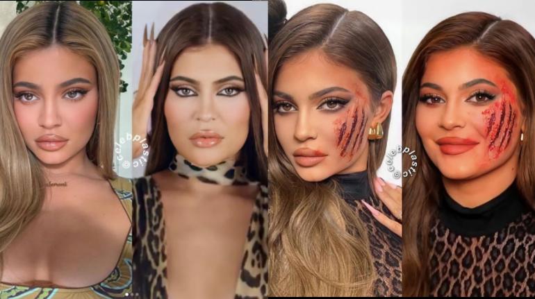 kylie jenner instagram vs. vida real