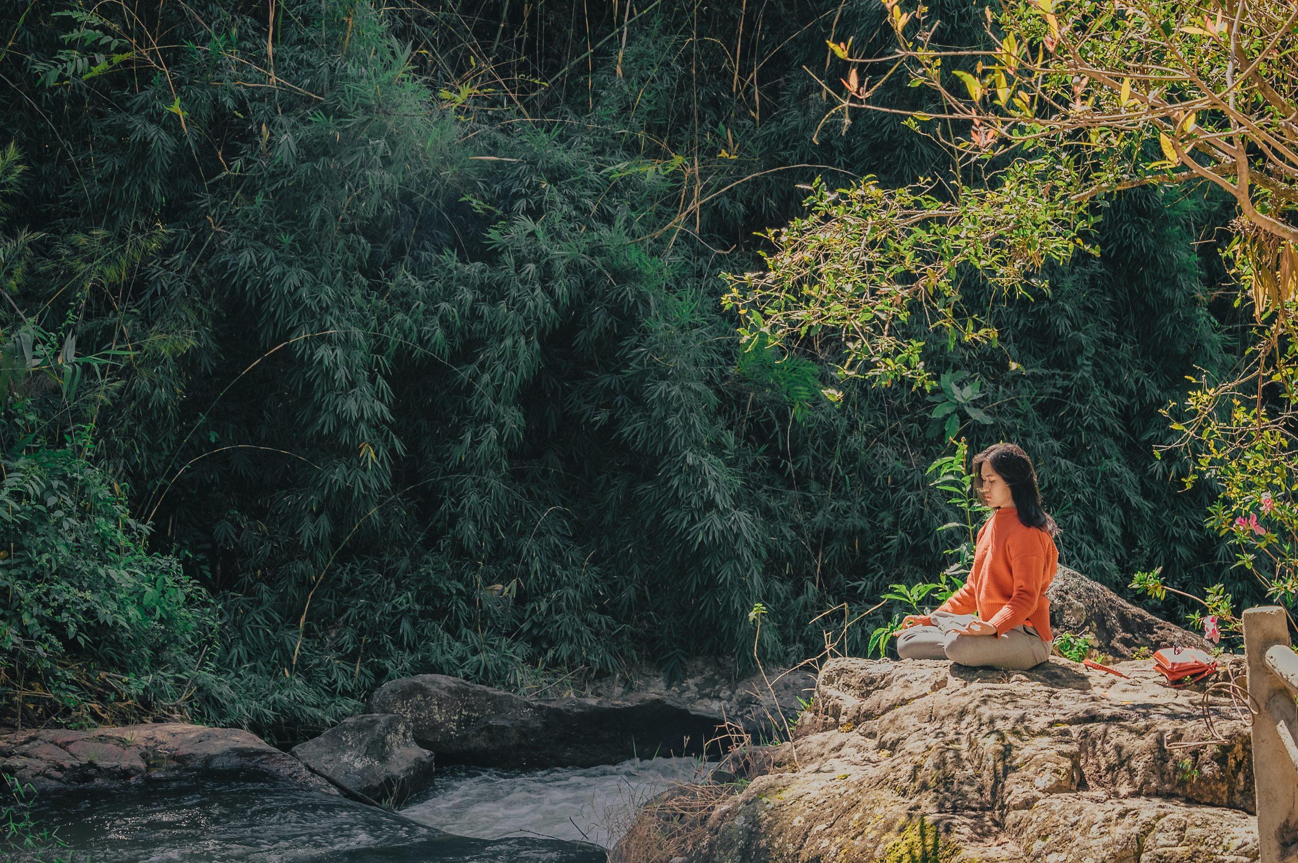 guía de meditación