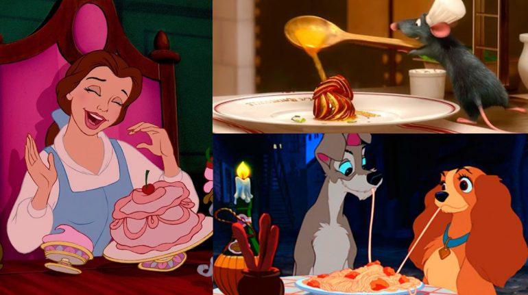 test platillos Disney