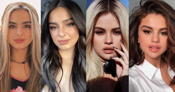 celebridades castañas que se tiñeron de rubias